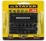 """26084-H33 Набор Stayer """"Master"""" биты специальные Cr-V с магнитн. адаптором в удароп.держат 33предмет"""