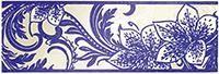 1501-0054 Азур бордюр синий Крем (ЛБ-Керамикс)