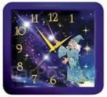 2007-448 Часы настен.29,5*30см пластик Звездочет