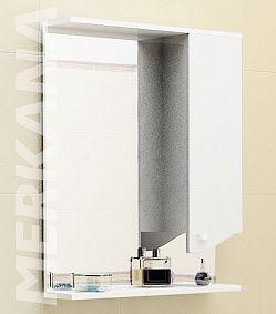 "66048 Зеркало ""ROMAN"" 60см,правый, , белый"
