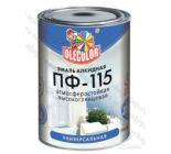 Эмаль Алкидная ПФ115 Ole Color белая 2,7кг