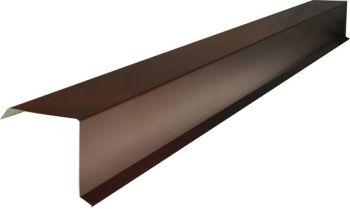 Планка карнизная 100*69*2000 (ПЭ-01-8017-ОН) Шоколад