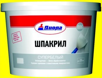 Шпакрил Диола 006 супербелый 1кг