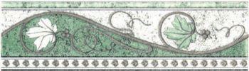 Бордюр зеленый 01