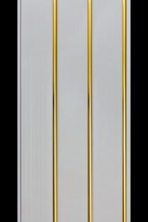 Панель 3-х секцион. ЗОЛОТО люкс  0,24*3,0м 8мм