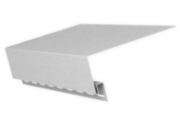 Околооконная планка Белый GL (75*165мм) 3,05м
