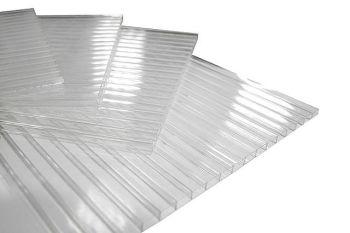 Лист сотовый поликарбонатный 4мм 2,1*6м