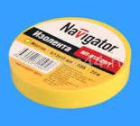 71105 Изолента Navigator NIT-B15-20/Y желтая/КНР