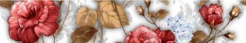 BRINA Бордюр вертикальный белый БШ23061