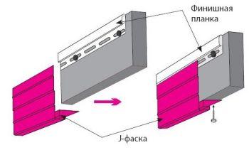 Ветровая доска (J-фаска) 3,8м белая
