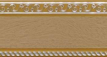 240 карниз УЛЬТРАКОМПАКТ Есенин серебро 3х рядный с декор. планкой 70мм тиама гл. в инд. уп.