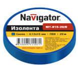 71114 Изолента Navigator NIT-B19-20/B синяя/КНР