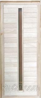 Дверь банная остекленная Тип 3, 700