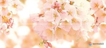 CW2H454DT Декор Cersanit Sunrise Многоцветный панно Cherry