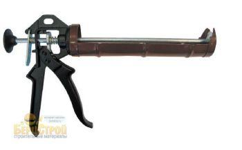 Пистолет для герметиков полукорпусной усиленный БИБЕР