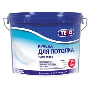 "ВД краска Текс ""Профи"" для потолка супербелая 9л=13,9кг"