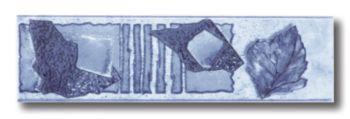 Бордюр В голубой