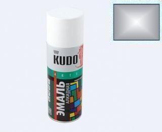 КУДО KU-1025 Эмаль аэрозолевая алюминий 0,52л универсальная