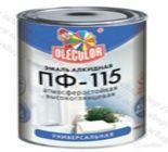 Эмаль Алкидная ПФ115 Ole Color белая 10кг