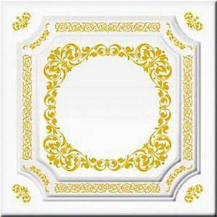 Плита потолочная Ф1-002 Золото