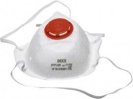 11104 Полумаска фильтр. DEXX противоаэроз. коническая с клапоном FFP1