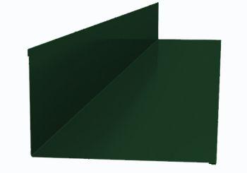 Планка примыкания верхняя  250*147*2000 (ПЭ-01-6005-ОН) Зеленый