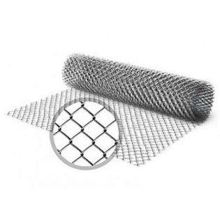 Сетка-рабица (яч. 25х25, d-1,4мм) рул. - 1,0м х 10,0м