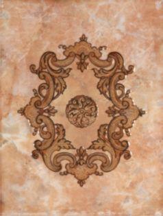 1634-0092 Капри_LB Светло-коричневый Декор