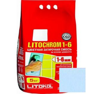 Расшивка LITOCHROM 1-6/2 C.120 светло-голубая Италия
