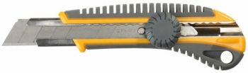 """09161 Нож STAYER """"МАСТЕР"""" с выдвижным сегментированным лезвием,18 мм"""