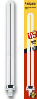 94073 Лампа Navigator PS 11Вт 220В G23 840/4200К