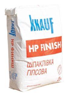 Шпаклевка гипсовая Кнауф HP-Finish (25кг)