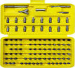 2607-H7_z01 Набор бит STAYER с магн. адаптером в круглом мини-боксе,PH1;PH2;PZ1;PZ2;SL4.5;SL5.5;7пр.