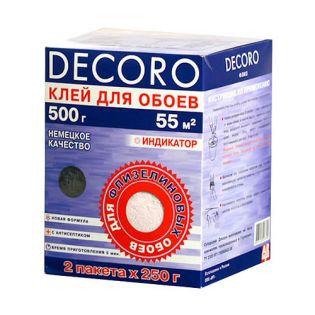 120-500 Клей для обоев Флиз 500гр. 55м2